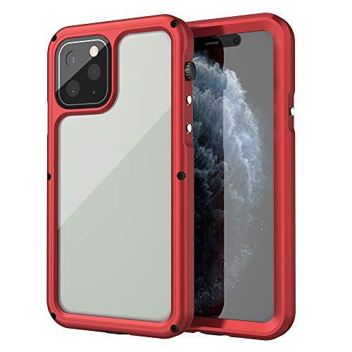 Funda Impermeable Iphone 11 Protected Cubierta A Prueba De Golpes A Prueba De Polvo Del Protector De Cuerpo Completo De Protección Para Iphone 11 Pro, Max, Iphone X / XS, Max, Iphone XR,Rojo,iPhone XR