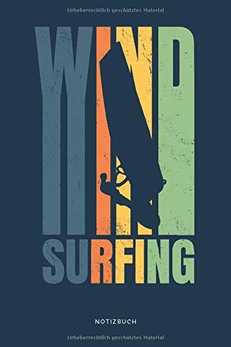 Windsurfing Notizbuch: Geschenkidee für Windsurfer, kariert, 120 Seiten