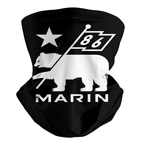 Marin-Bikes-Logo- Face Mask for Men Women Multi-Purpose Cooling Neck Wraps
