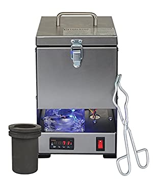 Tabletop QuikMelt 100 oz PRO-100-3 KG Melting Furnace - Stainless Steel Kiln Jewelry Making Metal Melting Casting Enameling Glass Fusing Precious Metal Clay Kiln Made in USA