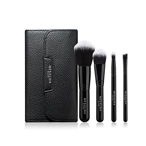 Mesauda Pennelli Travel KIT 4 Pennelli più Pochette TOuch Up & GO