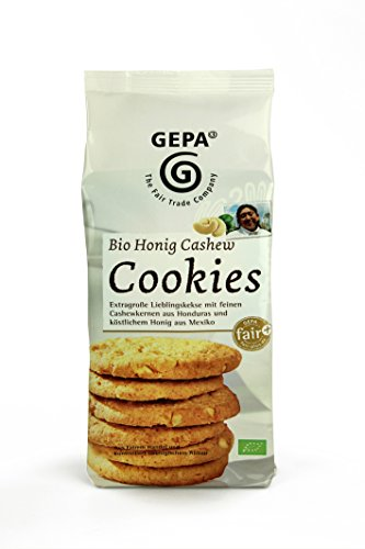 GEPA Honig Nuss Cookies, 7er Pack (7 x 150 g)