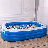 Maoviwq Piscina al aire libre inflable portátil piscina adultos niños Bañera plegable al aire libre baño interior spa para interior interior fiesta piscina (tamaño: tipo 1; color: color foto)