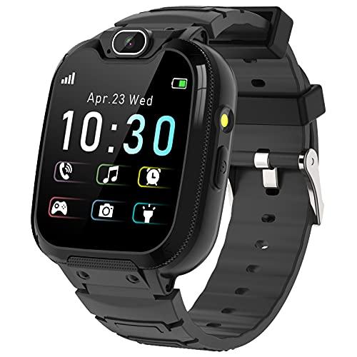 Smartwatch Niños -MP3 Música 14 Juegos Niños Reloj Inteligente llamada Chat...