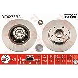 TRW DF4273BS Disque de Frein avec Roulements