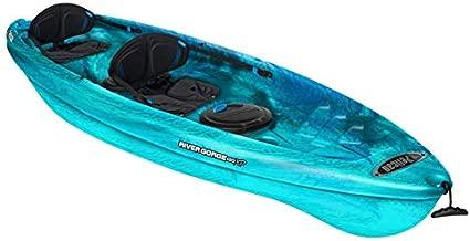 Pelican Tandem Recreationnal Kayak | River Gorge 130X Tandem, 13 Feet