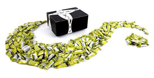 Gem Gem Zesty Lemon! Ginger Candy, 2 lb Bag in a BlackTie Box