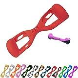 ZSZBACE Copertura Hoverboard per Scooter da 6,5 Pollici con 2 Ruote bilanciate- Multicolore Hoverboard Cover Skins- Hoverboard Silicone Copertina (Rossa)