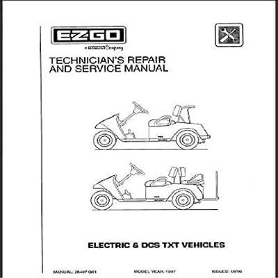 E-Z-GO 28407G01 1997-1998 Technician's Service and Repair