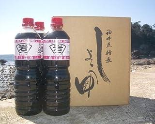 岩尾醤油味噌醸造元 「ジガミ岩桜醤油 1リットル3本セット(こいくち)」