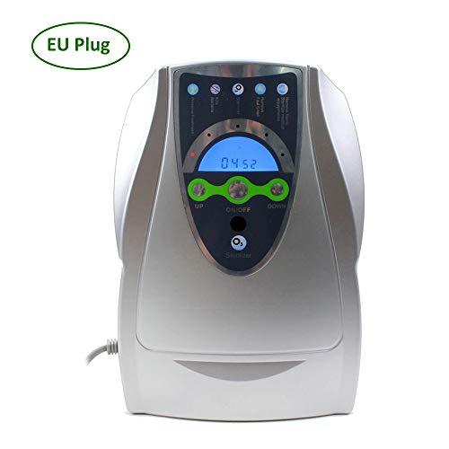 Generador de ozono Portátil Desinfectador de la zona O del hogar Ozonizador de aire y agua Purificador de aire Sterili-zer Deso-dorizador casero Máquina de desinfección de la esterilización