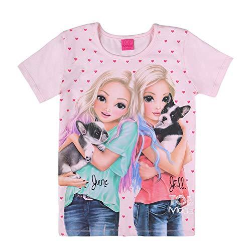 Top Model Mädchen T-Shirt, rosa, Größe 152, 12 Jahre