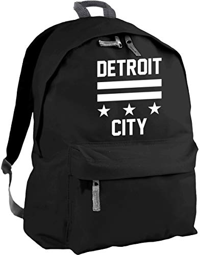 HippoWarehouse Detroit City Backpack ruck Sack Dimensions: 31 x 42 x 21 cm Capacity: 18 litres