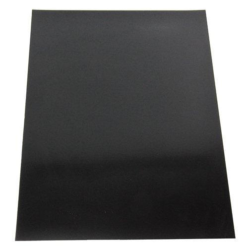 Magnet Expert Ltd - Lámina magnética flexible para manualidades (tamaño A4, 297 x 210 x 0,85mm), acabado brillante, color negro