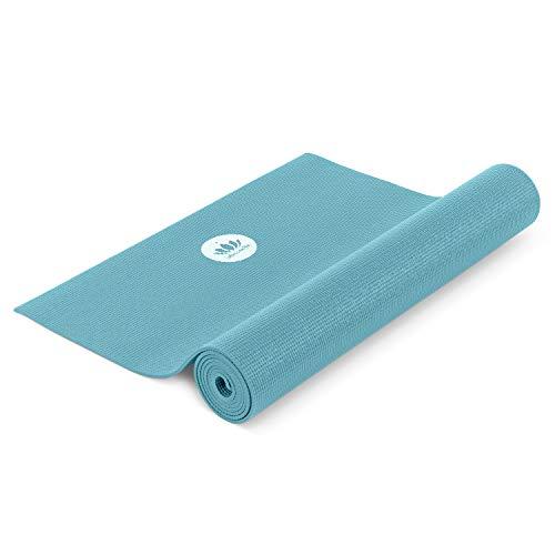 Lotuscrafts Yogamatte Mudra Studio [5mm Dicke] - Hautfreundlich & Schadstoffgeprüft - für Anfänger und Fortgeschrittene - Profi Matte für Yoga, Pilates, Sport und Training