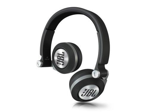 JBL On-Ear Kopfhörer (leistungsstarke, mit drehbaren Ohrmuscheln (3D-Faltpunkte), geeignet für Apple iOS und Android Geräten) schwarz