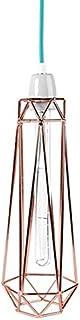 Filament Style - Table et fileament lampadaire/standleuchten lampadaire en bronze avec blue diamond 2