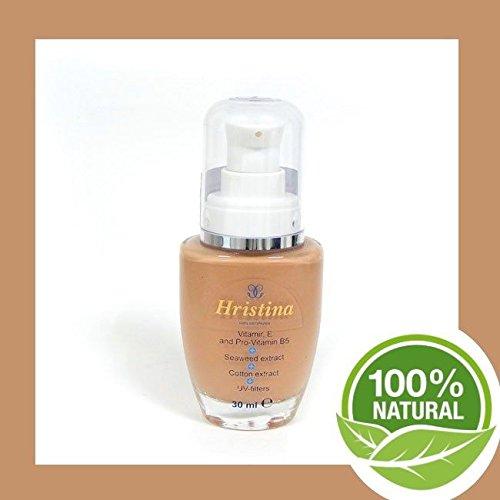 - 523 liquide maquillage sombre type de peau cosmétique naturel Filtre UV Apprêt Foundation Make Up