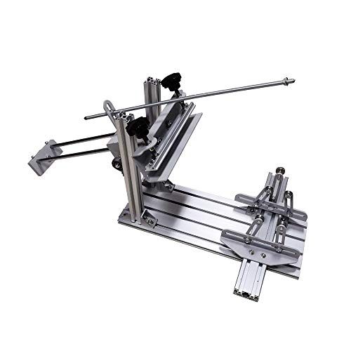 Manual Cylinder Screen Printing Machine Cylinder Silk Screen Printing Machine for Pen/Cup/Mug/Bottle with 10in Squeegee