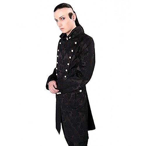 Aderlass Admiral Coat Brocade Black (Größe XXL)
