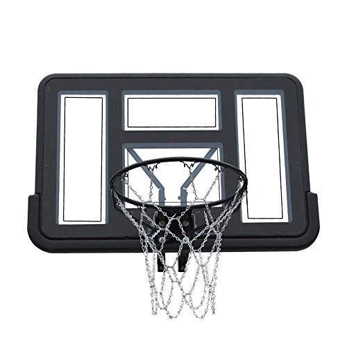 FACAZ Tablero de Baloncesto para niños Juego de Red de aro de Baloncesto Tableros de Baloncesto montados en la Pared Niños para Interiores/Exteriores 110x75cm