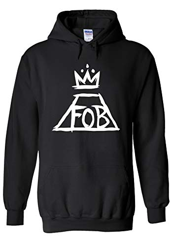 Fall Out Boy Patrick Stump My Chemical Romance Music Novelty Black Men Women Unisex Hooded Sweatshirt Hoodie-S
