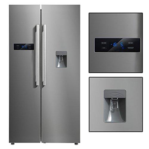 Side by Side Kühl-Gefrierkombination A+ No Frost Amerikanischer Kühlschrank Wasserspender A+ Kühlkombination