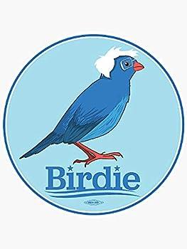 Bird of Bernie 2016 - Sticker Graphic - Political Funny Bumper Sticker for Cars Windows Trucks