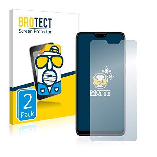 BROTECT 2X Entspiegelungs-Schutzfolie kompatibel mit Asus ZenFone Max (M2) ZB631KL Bildschirmschutz-Folie Matt, Anti-Reflex, Anti-Fingerprint