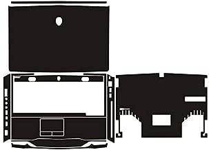 Special Laptop Black carbon fiber Vinyl Skin Stickers Cover for Alienware M14x R1 R2 14