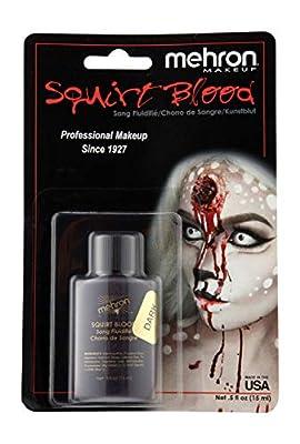 Mehron Makeup Squirt Blood (Dark Venous), 0.5 Ounce