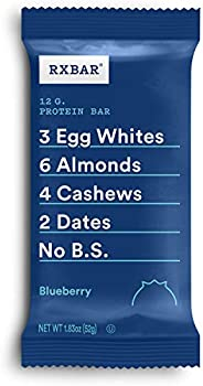 12-Pack RXBAR Whole Food Protein Bar
