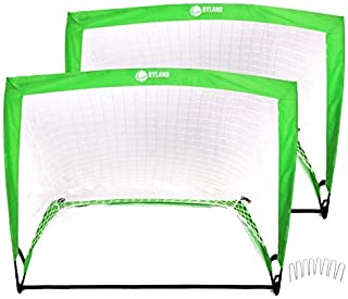 Hyland Athletics Fortnet 4' x 3' Soccer Goal x2