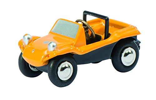 Schuco 450572500 - Piccolo Volkswagen Beach Buggy, Auto Und Verkehrsmodell, GElb/Schwarz