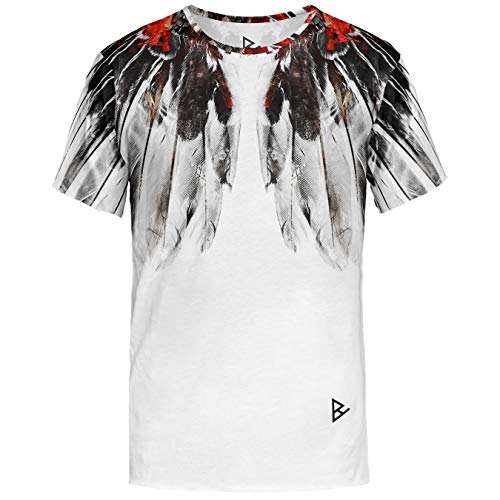 Blowhammer T-Shirt Uomo - Winged Man Tee - XXL