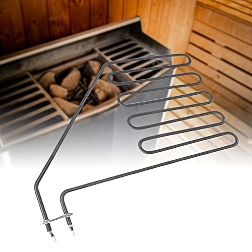 Surebuy Elemento Calefactor de Sauna de Larga duración, Tubo de Sauna, Accesorios de Sauna de Acero Inoxidable Centro de Fitness de Hotel Opcional para el hogar para saunas(SAV-3000W)