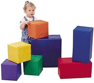 Children's Factory Sturdiblock Set, Large Foam Blocks for Toddlers, Big Building Blocks, Soft Play Equipment for Homeschool/Daycare/Playroom, Set of 7