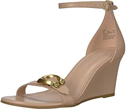 COACH Women's Odetta Wedge with Signature Buckle