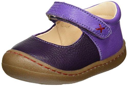 Pololo Luna, Chaussures Marche bébé Fille, Violet (Aubergine), 24 EU