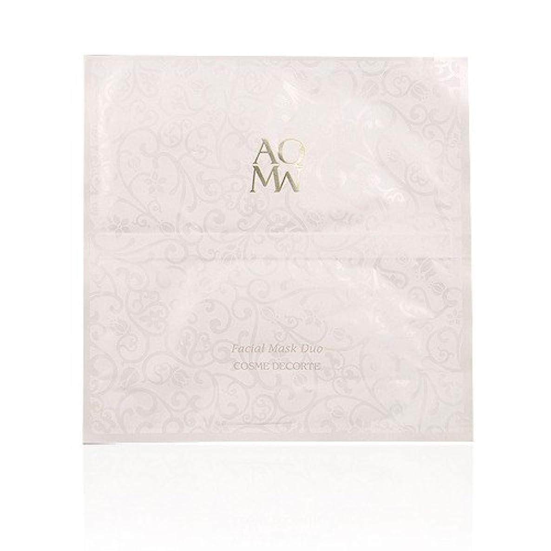 取得するスケルトンパースブラックボロウコスメデコルテ AQMW フェイシャル マスク デュオ 1枚 (並行輸入品)