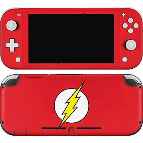 Skinit Decal Gaming Skin Compatible with Nintendo Switch Lite - Officially Licensed Warner Bros The Flash Emblem Design