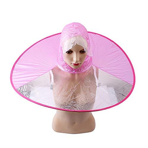 Yukie - 1 chubasquero creativo con capucha plegable para pesca al aire...