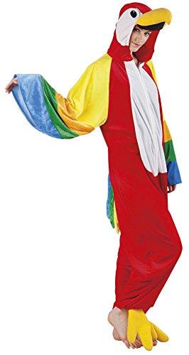 B88046-180 Papagei Parrot Kostüm Damen Herren Gr.bis max. 180 cm Körpergröße