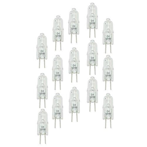 20x Lampada Alogena 12V 5W Bianco Caldo Attacco G4 Halogen Illuminazione Interno