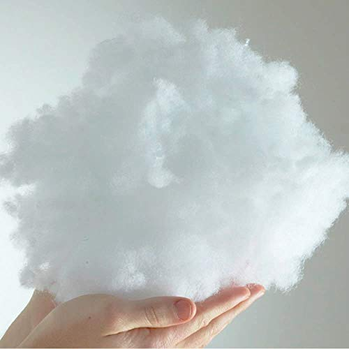 Signature Textiles Virgin Hollowfibre Filling Toys Stuffing Pillows Pads Cushion Teddy Bear Polyester Filling (5KG)