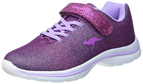 KangaROOS Kangashine EV II Sneaker, Purple/Lavender, 37 EU