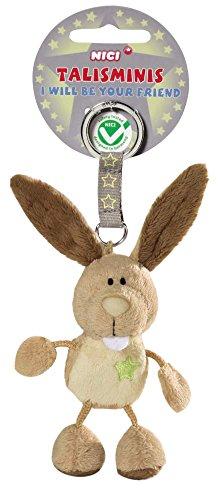 NICI 36685 - Schlüsselanhänger Hase, 7 cm Talisminis
