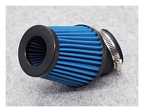 Cubierta de plástico a Prueba de Agua Filtro Aire Motocicleta Partol 48 Mm Filtro Admisión Limpiador Aire Rojo Universal 48 Mm para S&Cooter Filtro de Colmena (Color : 2, Size : 48mm)