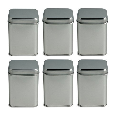 Nakpunar Tea Tin Canister, PACK OF 6