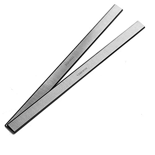 OSCARBIDE HSS Planer Blades Knives for Delta 22-540 22-547 TP300 12-1/2 inch Replacement Planer Knives 2 Cutting edges,2 Pieces/Set